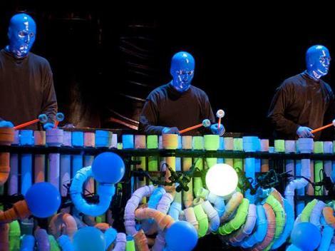 Blue Man Group X Files Theme 3
