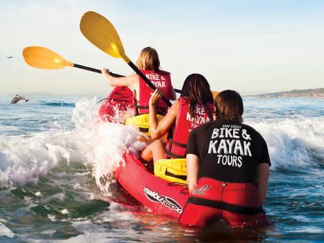 Go San Diego Card kayak