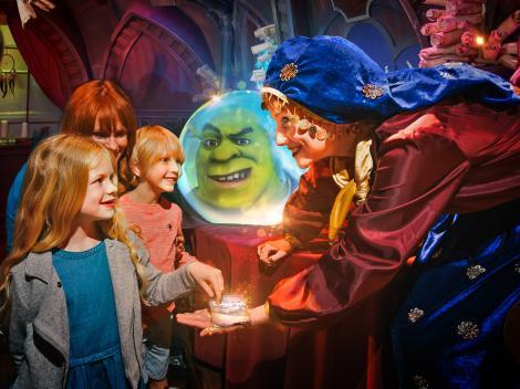 The London Cluster Dreamworks Shrek