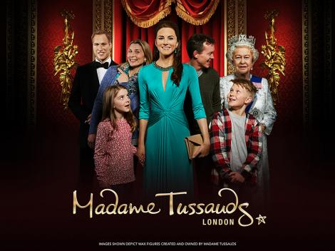 The London Cluster Ticket Madame Tussauds