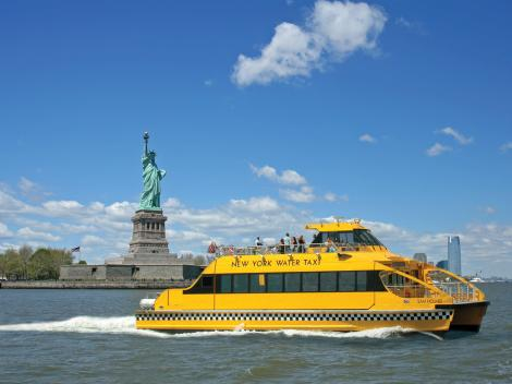 Hop On/Hop Off New York Water Taxi with 9/11 Visitor Pass