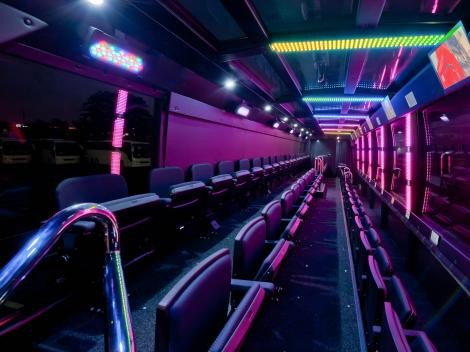 THE RIDE INSIDE THE BUS