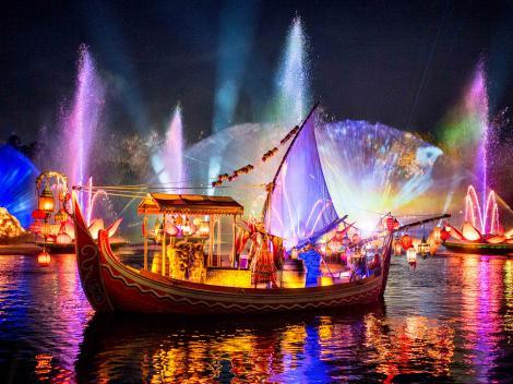 River of Lights at Walt Disney World