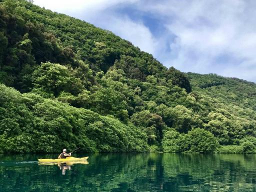Kayak tour with pick up from Rome