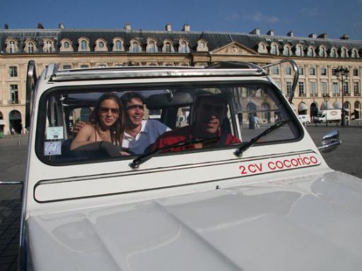 Paris Classics Tour by 2CV