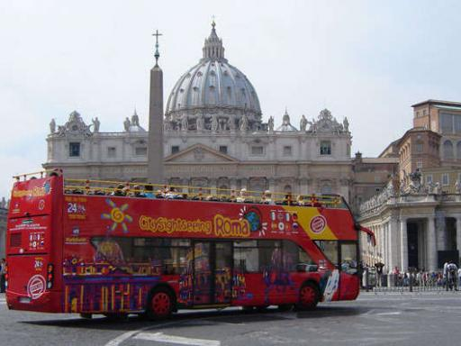 Rome Hop-on/Hop-off Double Decker Bus Tour