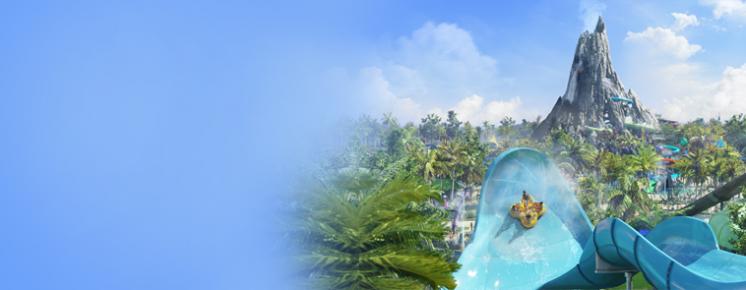 Universal's Volcano Bay™ Wasser-Themenpark