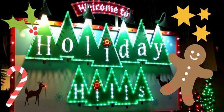 Christmas Town in Busch Gardens