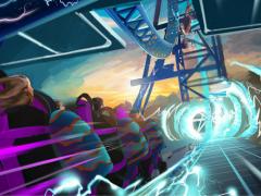 "Aufregender neuer Rollercoaster ""Electric Eel"" in SeaWorld California!"