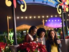 Entertainment-Guide für das Epcot International Festival der Feiertage Ein globales Weihnachtsvergnügen im Walt Disney World Resort in Florida!