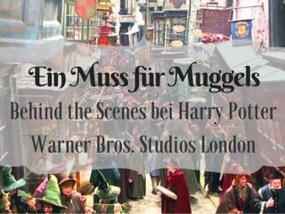 Besen und Butterbier – Ein Besuch in den Harry Potter Studios London