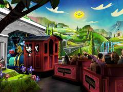 Mickey and Minnie's Runaway Railway walt disney world