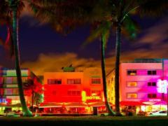 Art Deco District von Miami Beach