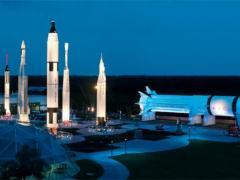Raketenstart im Kennedy Space Center
