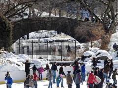 Endlich wieder Eislaufen im Central Park!