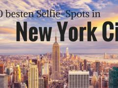 Die 10 besten Selfie-Spots in New York City Selfie-Stick dabei?