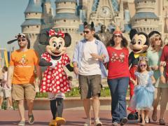 Zu Fuß in Walt Disney World