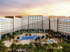 Eröffnung Universal Orlando Resort Hotel Das achte Hotel des Universal Orlando Resorts bereitet sich auf die Eröffnung vor.