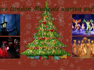 Hier kommen unsere Top 5 London Musicals