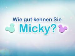Wie gut kennen Sie Micky Maus?