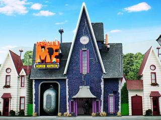 Despicable Me: Minion Mayhem - Grus Haus in Universal Studios Hollywood
