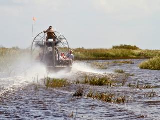 Everglades Luftbootfahrt mit Transfer