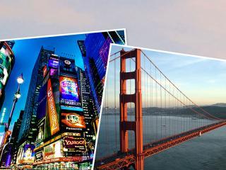 5% Rabatt auf ALLE unsere New York, Las Vegas und Kalifornien Tickets