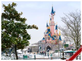 Disneyland Paris erstrahlt im Weihnachtsglanz