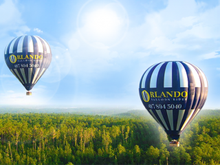 Im Heißluftballon über Orlando für €133