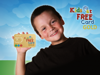 Gratis Kids Eat Free Card für jedes Orlando Kinderticket