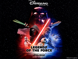 Star Wars - Legends of the Force im Disneyland® Paris!