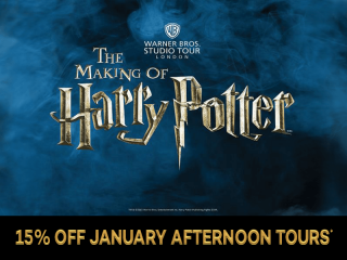 Warner Bros. Studio Tour - The Making of Harry Potter mit Transfer Winter-Angebo