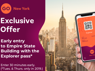 Go New York Explorer Pass - 50+ top attraction choices...