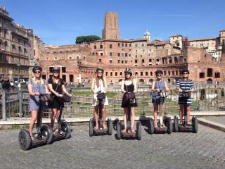 Rome Segway Tour Easier than walking and more fun than a coach tour!