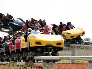 Ferrari World Abu Dhabi Gold Admission Ticket