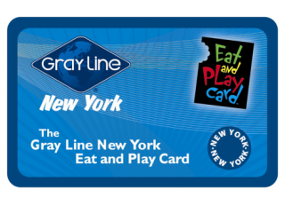 New York Eat and Play Card