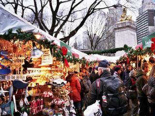 NYC Holiday Markets and Christmas Lights Walking Tour