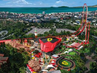 PortAventura & Ferrari Land 1 Tag/2 Parks Ticket