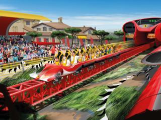 PortAventura & Ferrari Land 3 Tage/2 Parks Ticket