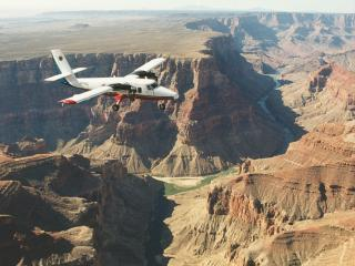 Grand Canyon Highlights Flug - Visionary Air Tour