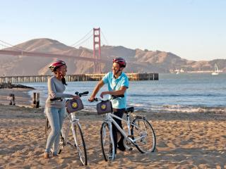 California Sunset San Francisco Bike Tour