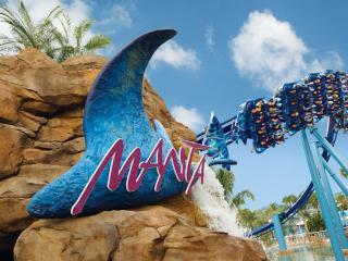 SeaWorld Orlando - Manta