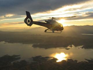 Sunset Grand Celebration Helicopter Tour