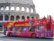 Rom Doppeldecker Bus Tour plus Eintritt ins Kolosseum