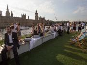 Sunday Lunch Jazz Bootsfahrt auf der Themse