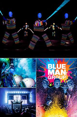 Blue Man Group X Files Theme 10