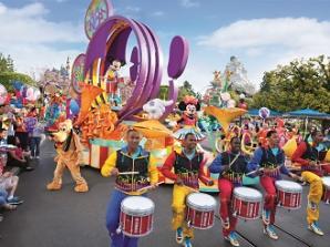 5 Tage Disneyland Resort 1 Park pro Tag Ticket