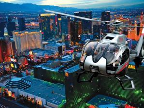 Las Vegas Strip Helikopterrundflug bei Nacht