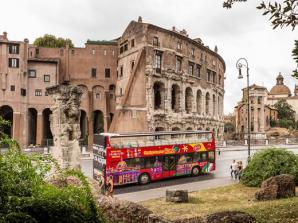 48 Hour Hop-on Hop-off Bustour mit SKIP THE LINE Kolosseum, Vatikanische Museen