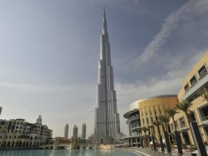 At the Top of the World - Burj Khalifa & lunch at Burj Al Arab